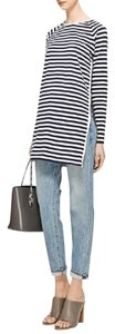 Harvey Faircloth Stripes Moda Operandi Striped Breton Tunic