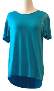 nOir T Shirt aqua blue