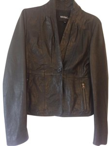 Max & Co. Leather Lambskin Leather Jacket