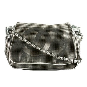 Chanel Hollywood Logo Metallic Shoulder Bag