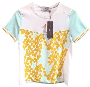 adidas By Stella McCartney Active Wear Tennis Workout Exercise T Shirt