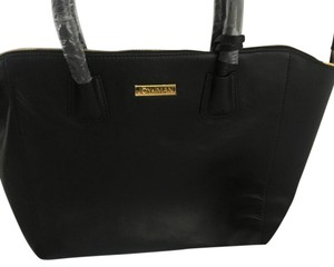 Joy & IMAN Satchel in black