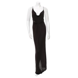 Cut25 Yigal Arouzel Formal Gown Cowl Neck Dress