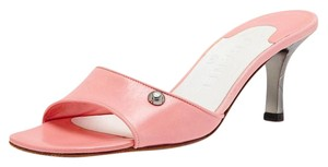 Chanel Leather Pump PINK Sandals