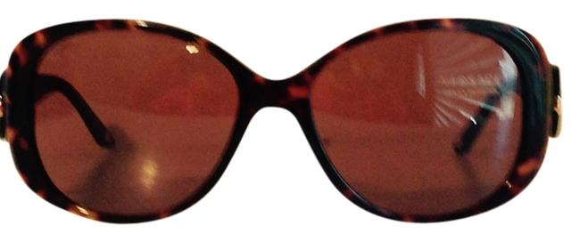 Item - Multi Black and Brown and Gold Made In Italy Sunglasses