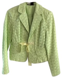 Willi Smith Light Lime Blazer