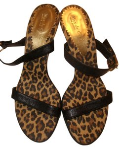 Max de Carlo High Heels Animal Print Sandals