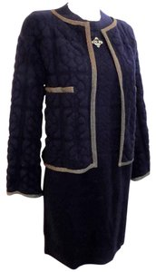 Chanel Cashmere Lesage Sweater Dress