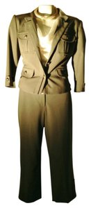 insight Nwt's Olive green 2 piece crop /jacket pant suit