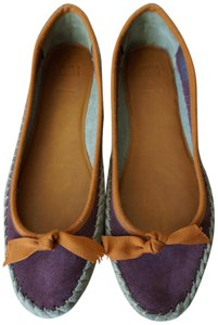 Anthropologie Leather Moccasin Boho Jasper And Jeera Mixed color Flats