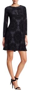 Eliza J short dress BLACK on Tradesy