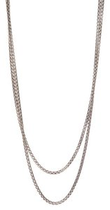 David Yurman David Yurman Sterling Silver Box Chain Long Necklace