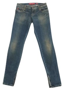 Miss Sixty Skinny Jeans-Medium Wash