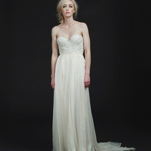 Sarah Seven Carmine Wedding Dress Wedding Dress