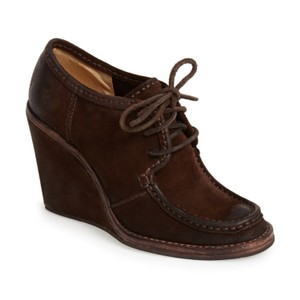 Frye Brown Wedges