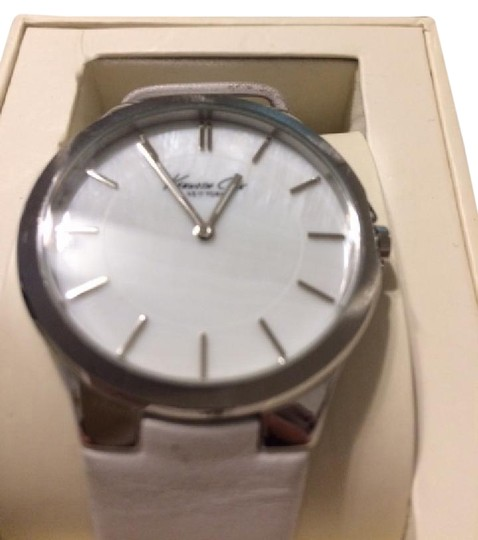 Preload https://img-static.tradesy.com/item/21199848/kenneth-cole-white-mother-of-pearl-face-watch-0-1-540-540.jpg