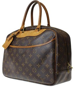 Louis Vuitton Satchel in browns
