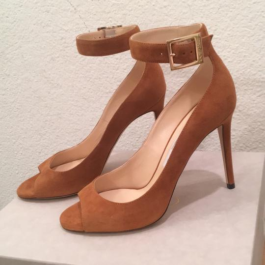 Jimmy Choo Canyon Tan Pumps