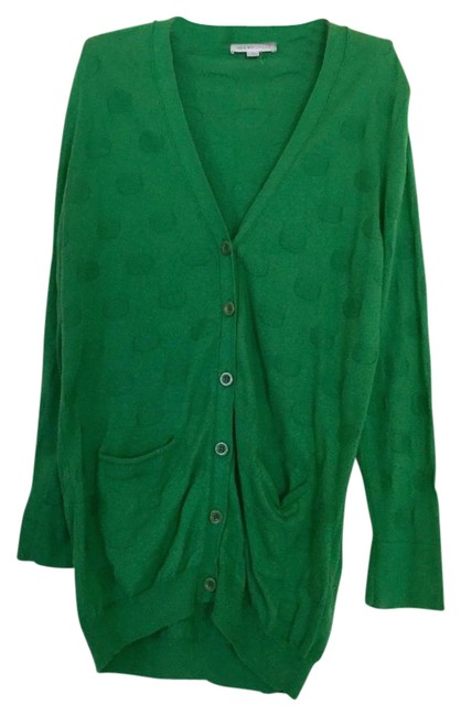 Preload https://img-static.tradesy.com/item/21200029/see-by-chloe-green-bright-cardigan-size-6-s-0-1-650-650.jpg