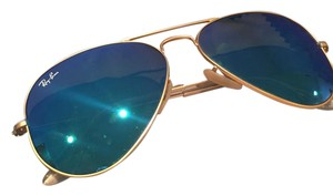 Ray-Ban Blue Mirror Aviator Sunglasses