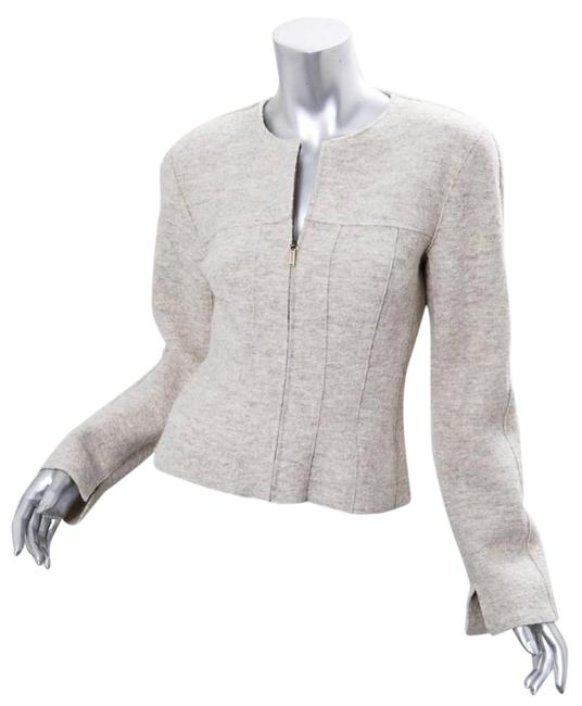 Preload https://img-static.tradesy.com/item/21200075/chanel-light-grey-99a-fitted-wool-zip-up-long-sleeve-coat-size-4-s-0-1-650-650.jpg