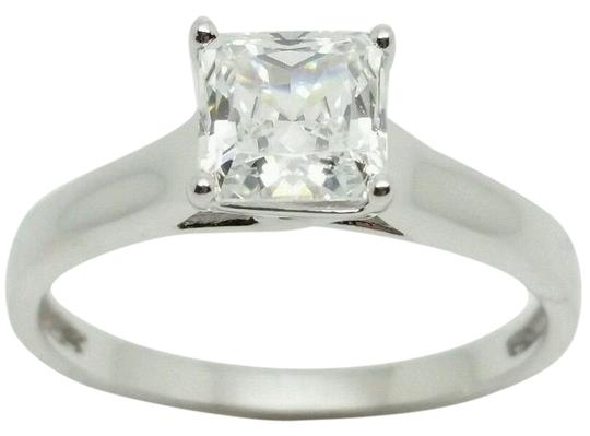 Preload https://img-static.tradesy.com/item/21200180/white-159ct-diamond-equivalent-princess-cut-platinum-plated-silver-ring-0-1-540-540.jpg
