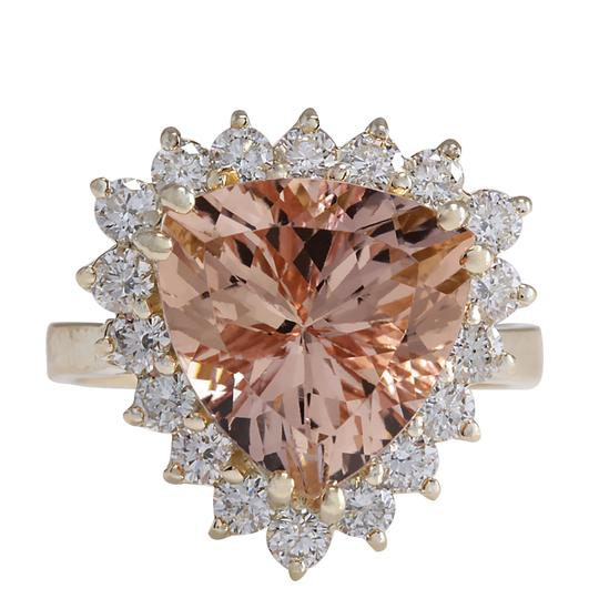 Preload https://img-static.tradesy.com/item/21200201/peach-627-carat-natural-morganite-14k-yellow-gold-diamond-ring-0-0-540-540.jpg