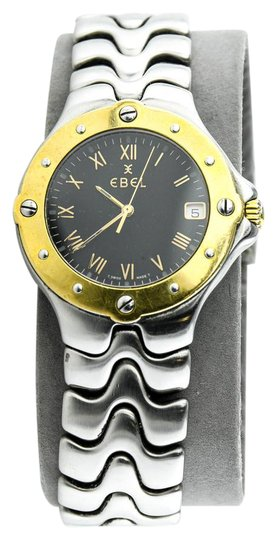 Preload https://img-static.tradesy.com/item/21200240/ebel-gold-tone-and-stainless-steel-sportwave-unisex-watch-0-1-540-540.jpg