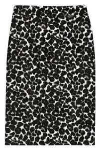J.Crew Jacquard Pencil Size 14 Skirt Animal Print
