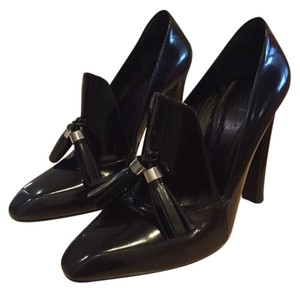 Alexander Wang Tassels Leather Heels Black Pumps