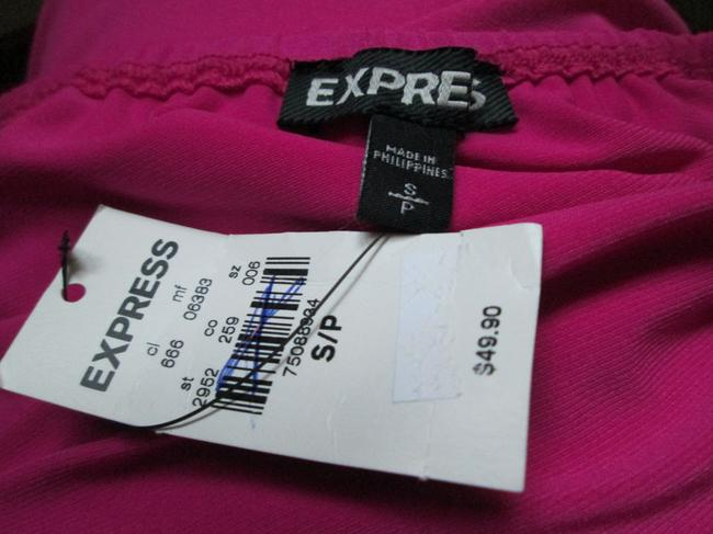 Express Spring Summer New Jersey Slouchy Top Pink