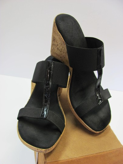 Other Size 9.50 Very Good Condition Made In Italy Black, Neutral Sandals