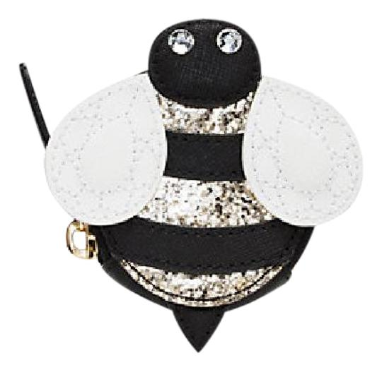 Preload https://img-static.tradesy.com/item/21200411/kate-spade-black-down-the-rabbit-hole-bee-coin-purse-wallet-0-1-540-540.jpg