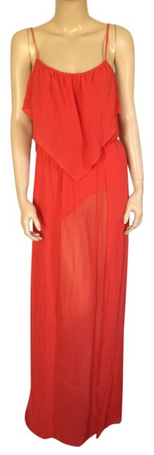 Preload https://img-static.tradesy.com/item/21200506/bcbgeneration-red-bcbg-blouson-maxi-gown-sheer-small-long-night-out-dress-size-6-s-0-1-650-650.jpg