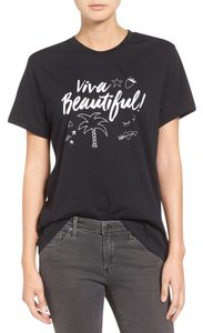 SINCERELY JULES Viva Jules Sincerely T Shirt BLACK