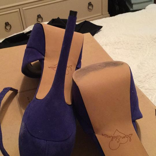 Sam Edelman blue Platforms