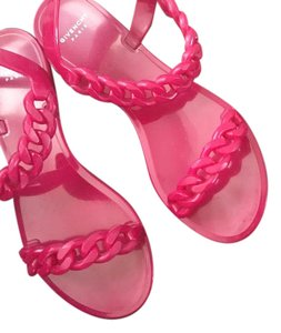 Givenchy Chain Italian Luxury European Pink Sandals