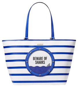 Kate Spade Mk Chanel Coach Tote in Multi Blue white