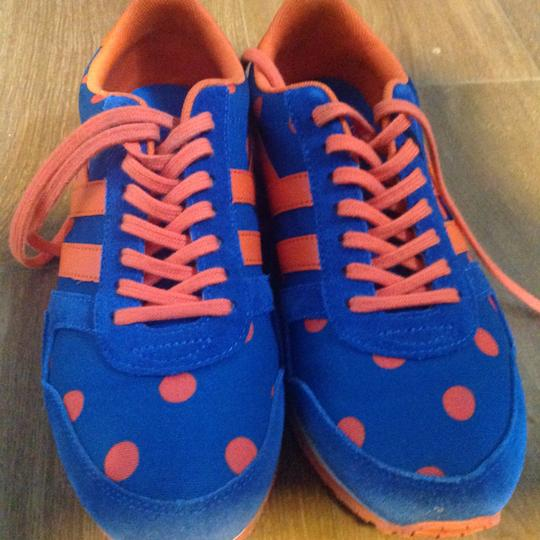 Cath Kidston orange and blue Athletic