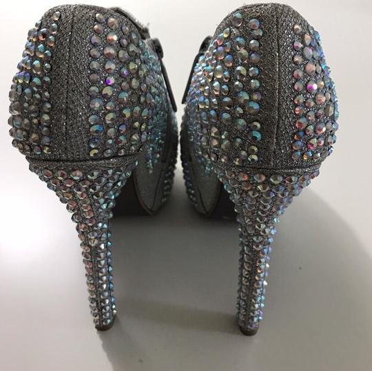 Bella Luna silver Pumps