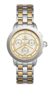 Tory Burch Two-Tone Stainless Steel Classic Bracelet Watch