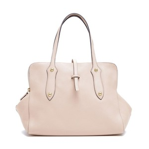 Annabel Ingall Leather Satchel in Buff