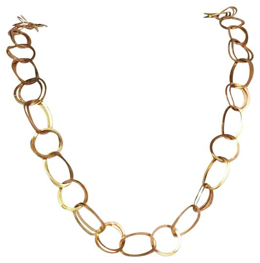 Preload https://item4.tradesy.com/images/premier-designs-gold-tone-circle-link-long-chain-necklace-21200823-0-1.jpg?width=440&height=440