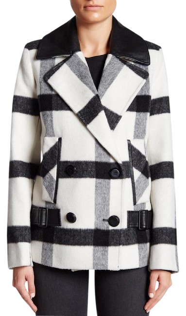 Preload https://img-static.tradesy.com/item/21200844/trina-turk-bk-wht-pld-notch-lapel-two-button-plaid-coat-size-2-xs-0-1-650-650.jpg