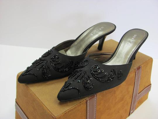 Unisa Beads And Sequins Size 7.00 M Excellent Condition Black, Formal