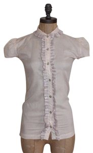 LADIES OF THE CANYON Pale Rose Snap Front Button Down Shirt PINK