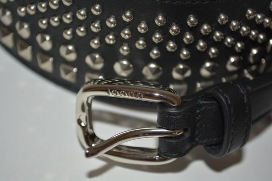 Gucci NWT GUCCI STUDDED LEATHER WAIST BELT SZ 36 90 MADE IN ITALY