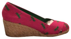 Ralph Lauren pink Wedges