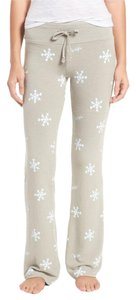 Wildfox Lounge Winter Snowflake Athletic Pants GRAY