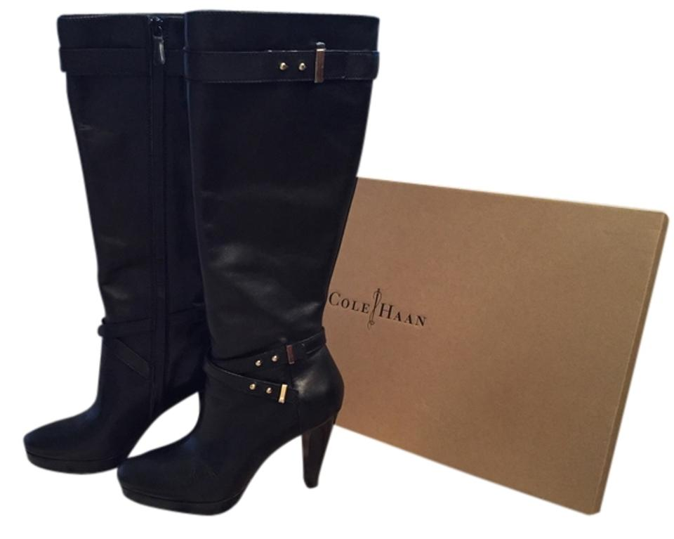 Cole Accents Haan Black with Gold Accents Cole Boots/Booties 2afec5
